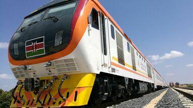 Madaraka Express, el tren que unirá Mombasa desde Nairobi.