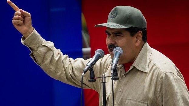 """Maduro convoca a una """"Asamblea Nacional Constituyente"""" con la clase obrera. (EFE)"""