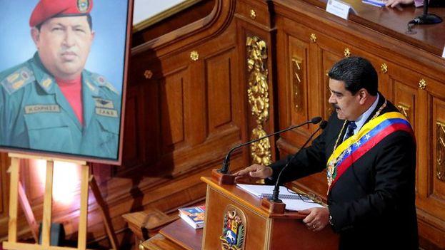 Maduro anunció la reforma de su plan este lunes en la Asamblea Nacional Constituyente, no reconocida por la oposición y parte de la comunidad internacional. (@NicolasMaduro)