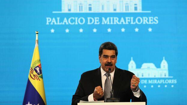 La mención de Maduro deja claro el origen del proyecto y el interés directo del Ejecutivo sobre la decisión del Legislativo. (EFE)