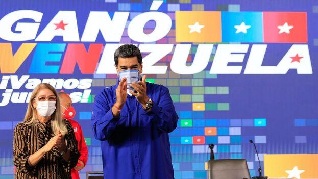 """Maduro afirmó que necesitan """"hilvanar un liderazgo colectivo"""" para que """"en Venezuela se abran las compuertas a un gran diálogo"""".(EFE)"""