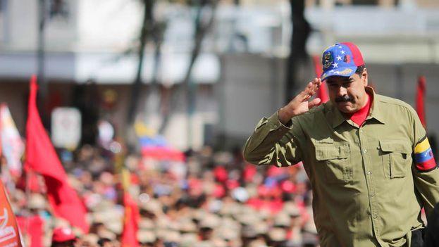 Maduro asistió a un acto este domingo, con motivo de la conmemoración de los 26 años del intento de golpe de Estado del fallecido presidente Hugo Chávez. (@NicolasMaduro)