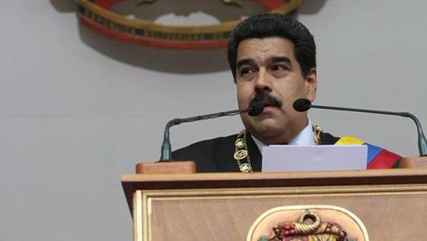 Maduro durante su discurso. (PSUV)