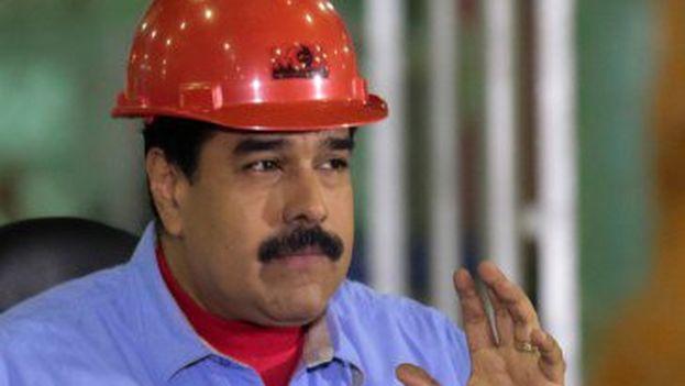 Maduro asistió este jueves a una jornada de entrega de viviendas en el oriente del país. (@NicolasMaduro)