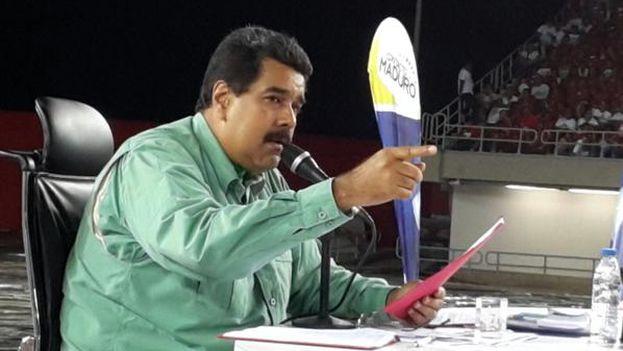 Maduro aseguró haberle salvado la vida a Leopoldo López. (@PresidencialVen)