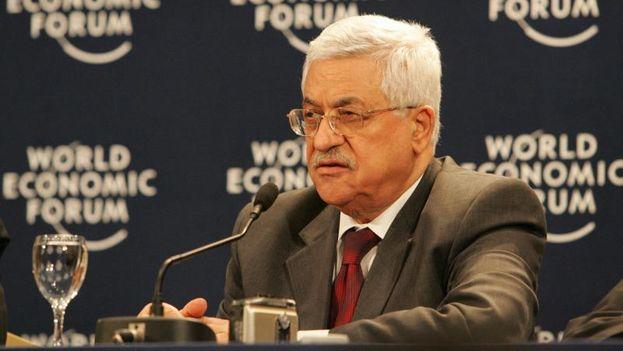Mahmud Abás, presidente de la ANP, en el Foro Económico Mundial de Davos, en 2007. (CC)