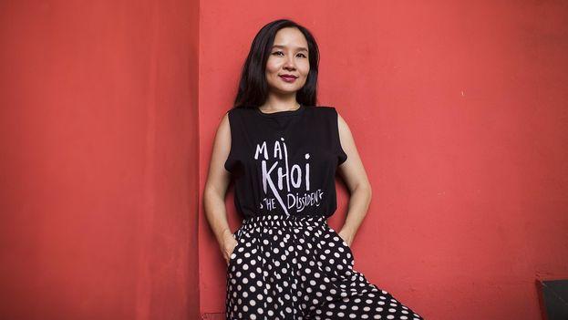 Mai Khoi, cantante vietnamita, es una de las voces críticas contra el Gobierno más importantes del país. (Sasha Arefieva)