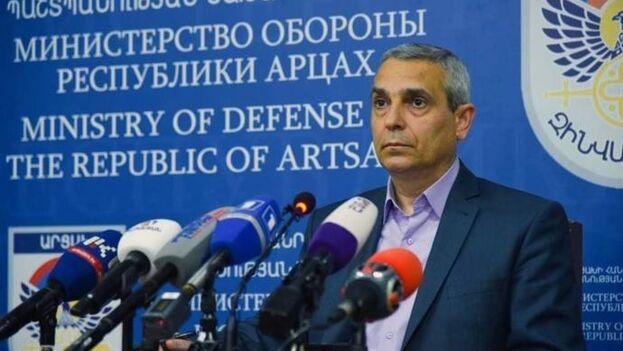 """Mailián recuerda que la autoproclamada república está en guerra desde hace casi 30 años y ha demostrado que es """"el mejor Ejército del Cáucaso"""". (EFE)"""