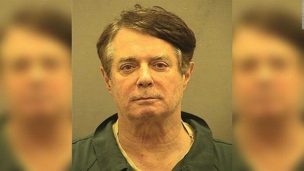 Paul Manafort en el centro de detención de Alexandria, Virginia. (Alexandria Sheriff's Office/CC)