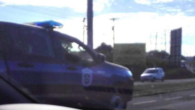 Managua ha amanecido tomada por la policía en este Día de los derechos humanos. (@Convocadoleon)