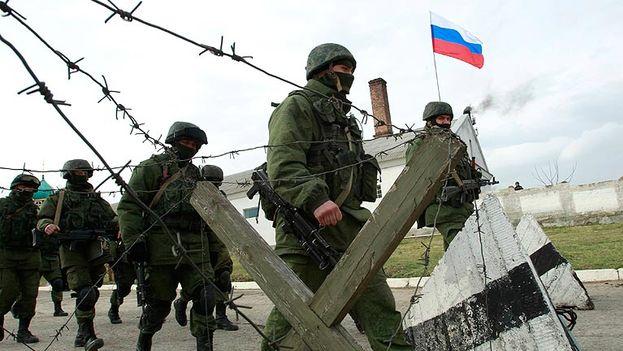 Maniobras militares del ejército ruso en 2014. (Captura vídeo RTVE)