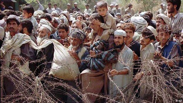 Mantoo pidió a los países vecinos a Afganistán que mantengan sus fronteras abiertas ante la posible llegada de refugiados. (EFE)