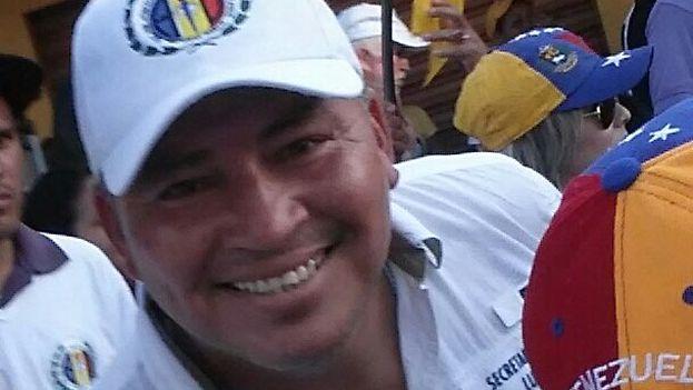 Luis Manuel Díaz el opositor fallecido, del partido Acción Democrática (AD),