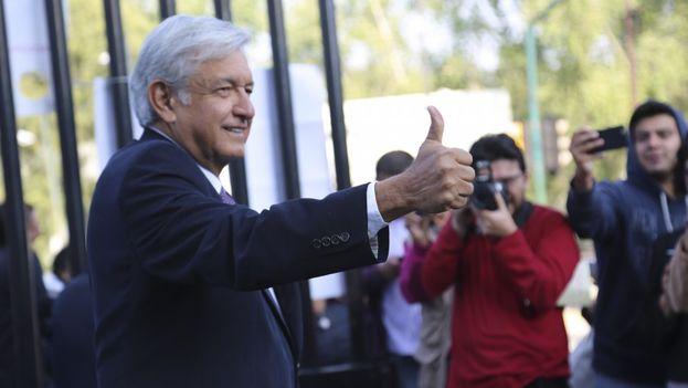 Andrés Manuel López Obrador, líder del Movimiento de Regeneración Nacional. (lopezobrador.org.mx)