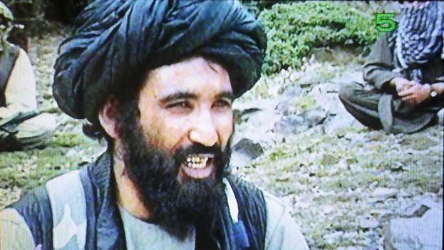 El mulá Manur murió tras ser bombardeado por un dron estadounidense el pasado sábado. (Captura de vídeo)