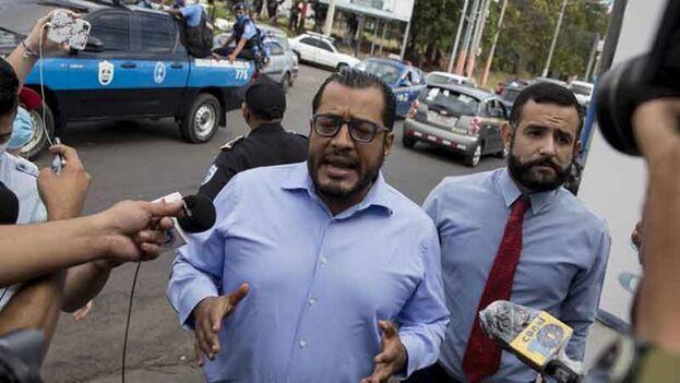 Maradiaga fue detenido después de comparecer a declarar ante la Fiscalía. (EFE)