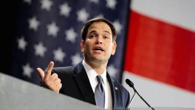 El senador Marco Rubio lucha para mantenerse en la carrera por la Casa Blanca. (EFE)