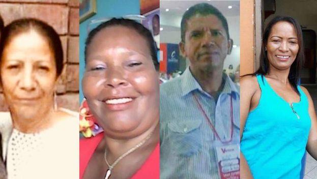 Margarita Estupiñán, Felicinda Santamaría, Luis Barrios Machado y Ana María Cortés son los últimos activistas colombianos asesinados. (Zona Cero)