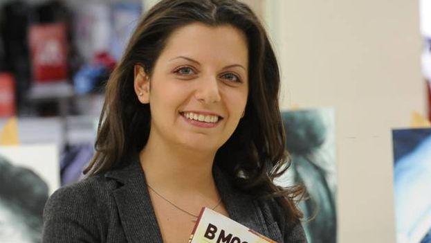 Hasta ahora, la directora del medio ruso, Margarita Simonián, siempre había sostenido que RT se marcharía de EE UU antes que registrarse como agente extranjero. (Sputnik)