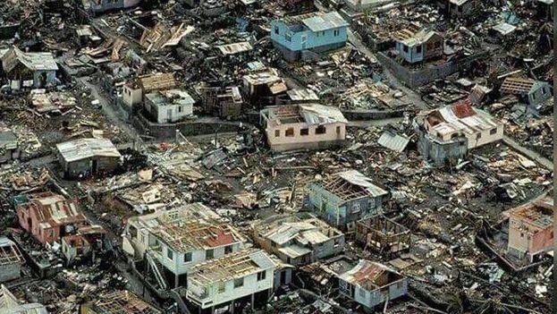 El huracán María dejó un 90% de la isla de Dominica arrasado el pasado septiembre de 2017. (EFE)
