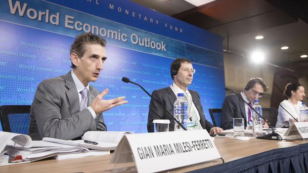 Gian Maria Milesi-Ferretti, director adjunto del Departamento de Investigación del FMI.