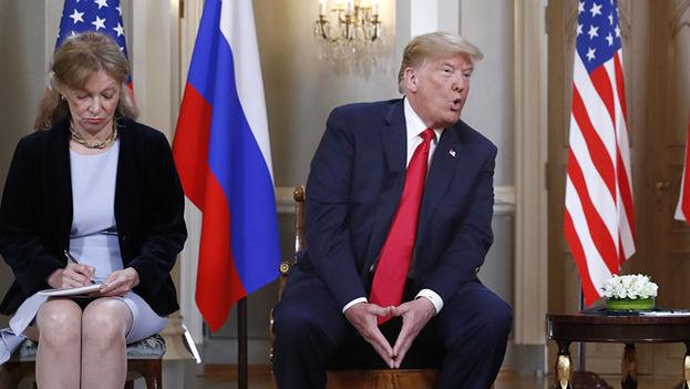 """Marina Gross """"es la única testigo fiable de la conversación entre los dos líderes"""", opina el congresista demócrata Bill Pascrell. (sputnik news)"""