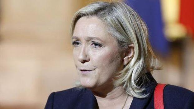 Marine Le Pen, líder del Frente Nacional de Francia. (EFE)