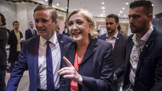 Marine Le Pen candidata de la derecha en las elecciones de Francia. (Efe)