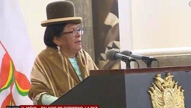 Martha Yujra, la nueva ministra de Cultura y Turismo del Gobierno interino, hizo un llamamiento a la unidad, la paz y la diversidad.