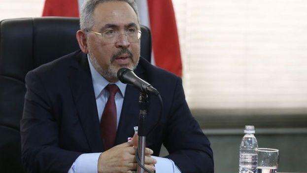 Nelson Martínez, expresidente de PDVSA y exministro de Petróleo de Venezuela, fue detenido este jueves en el marco de la investigación sobre corrupción de la petrolera. (EFE)