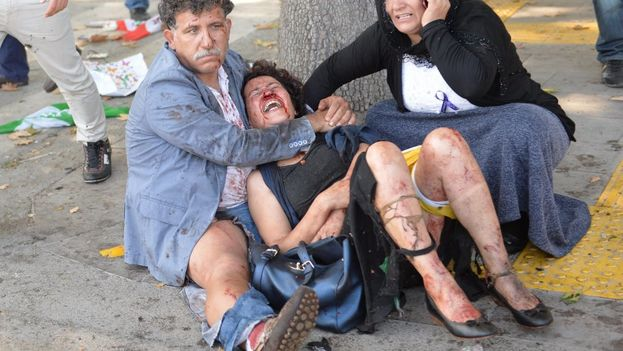 Masacre en el centro de Ankara (Foto EFE)