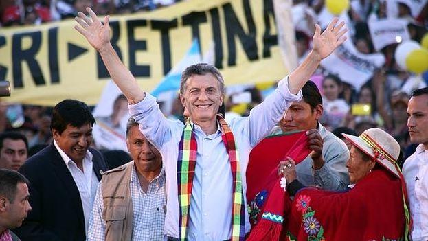 Mauricio Macri, nuevo presidente de Argentina (Foto EFE)