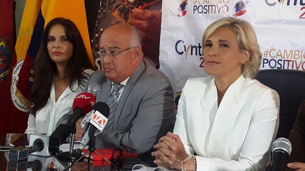 Mauricio Pozo afirmó que Ecuador saldrá del ALBA si su partido resulta vencedor. (@MauricioPozoEC)