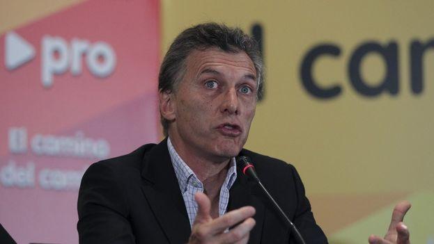 Mauricio Macri, líder de Propuesta Republicana, encabezan la alianza Cambiemos (archivo EFE)