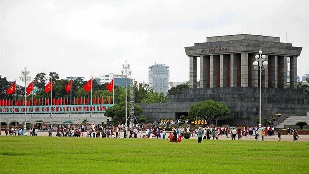 Mausoleo de Ho Chi Minh en Vietnam. (EFE)
