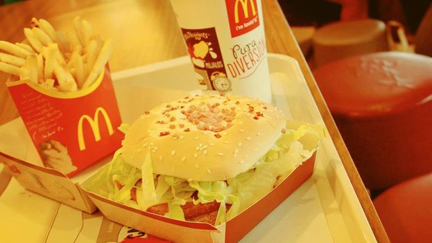 McDonald's retiró las papas fritas del menú de sus restaurantes en Venezuela el pasado mes de enero.