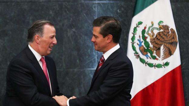 Meade se despidió del cargo agradeciendo a través de twitter la confianza del presidente Enrique Peña Nieto para encargarle tareas de Gobierno. (@JoseAMeadeK)