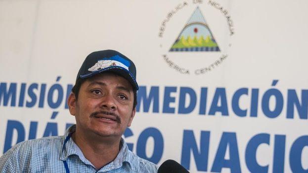 Medardo Mairena está detenido arbitrariamente según sus familiares y simpatizantes del movimiento campesino. (Almagro_OEA2015)