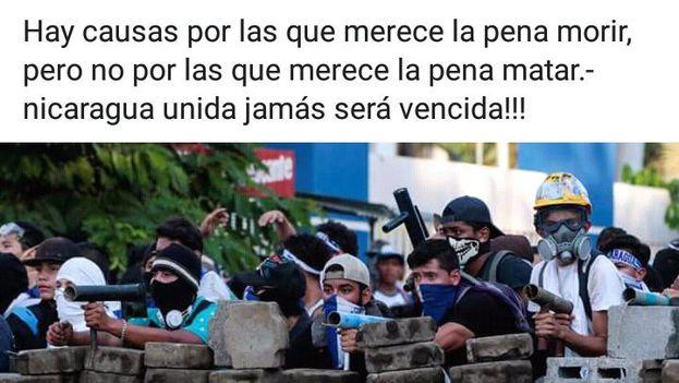 Mensaje publicado en Facebook por uno de los fallecidos en León este jueves. (Facebook)