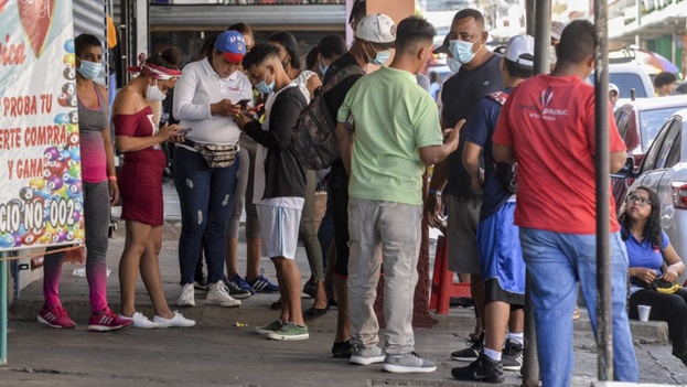 El Mercado Oriental, es una de las zonas comerciales más visitadas por los cubanos en Managua, Nicaragua. (La Prensa)