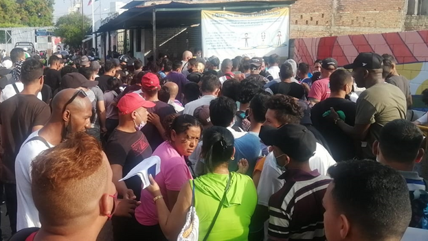 Los cubanos continúan entrando a México por el sur pese al cierre de fronteras de los países centroamericanos ante la pandemia. (Noticias de Chiapas)