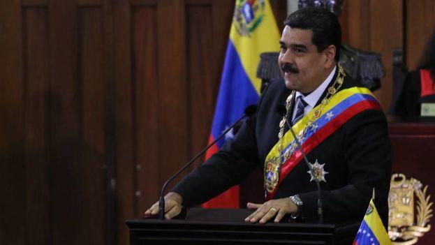El presidente venezolano hizo pública la reapertura del consulado de Miami para que puedan votar los venezolanos que residen en esa ciudad de EE UU. (@NicolasMaduro)