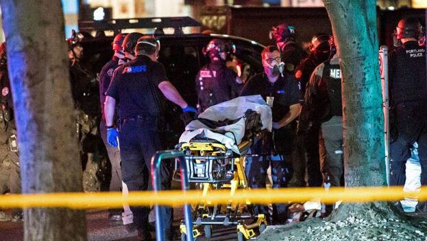 Michael Forest Reinoehl, murió en la localidad de Lacey, en el estado de Washington, cuando un grupo de agentes federales intentaba arrestarlo. (EFE)