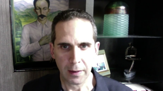 Michael Lima, en un video que promociona la petición al Parlamento canadiense de pronunciarse en favor de los derechos humanos en Cuba. (Captura)