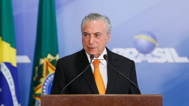 La mafia que adulteraba carnes tenía vínculos con al menos dos partidos de la base del Gobierno del presidente de Brasil, Michel Temer. (@MichelTemer)