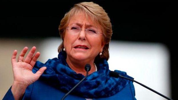 Bachelet en Cuba para reforzar comercio y relaciones