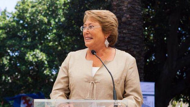 La presidente de Chile, Michelle Bachelet. (FACEBOOK)
