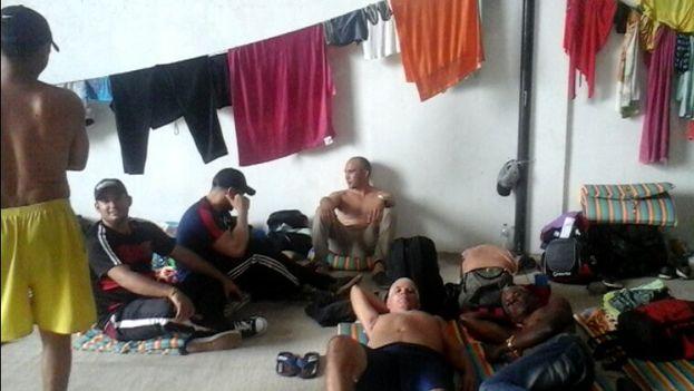 Migrantes cubanos en Colombia. (Cortesía)