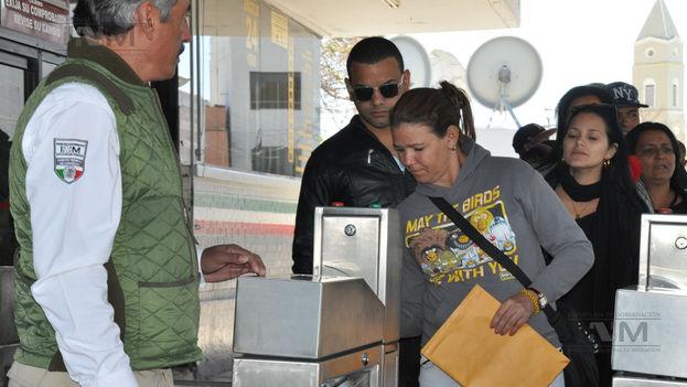 5 Migrantes cubanos llegan a México. (INM)