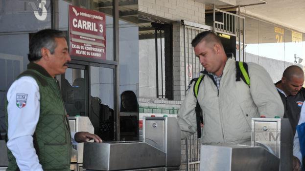6 Migrantes cubanos llegan a México. (INM)